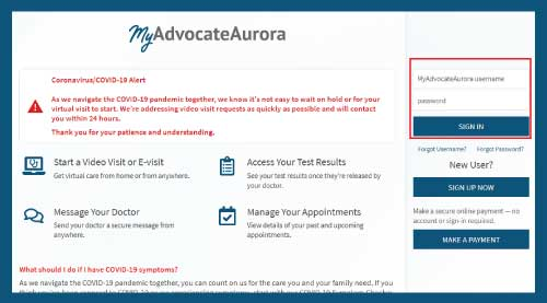 My Aurora Login In 5 Easy Steps Myadvocateaurora Org Microknack Keep up with sdmc news, services, programs, free events and emergency notifications. microknack