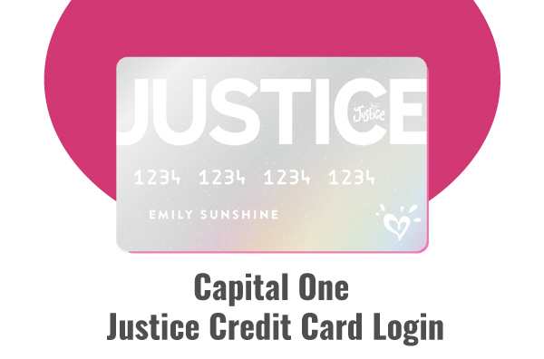 Capital One Justice Credit Card Login